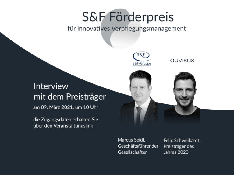 Einladung zum Webinar der S&F-Gruppe